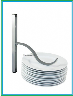 Plate/Crockery storage holders. Clamps